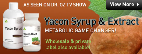 Yacon Extract - Wholesale Supplements