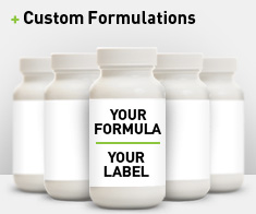 Custom Formulations - Private Label Health Supplements