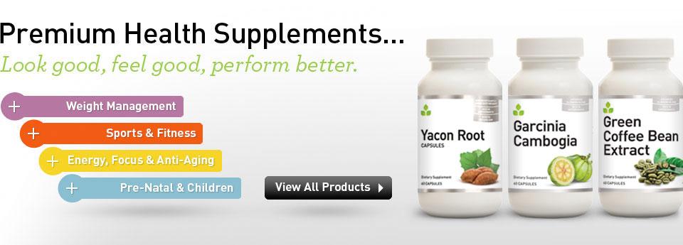 Premium Health Supplements